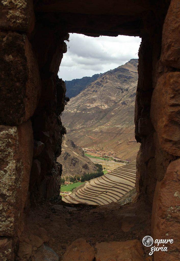 vista terraços pisac tour