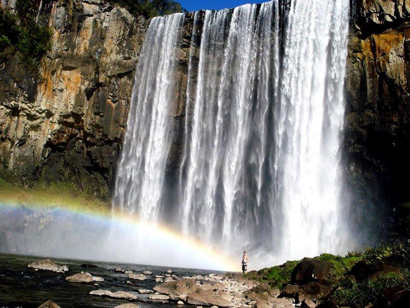 Cachoeira Rio dos Pardos cheia Santa Cruz do Timbó