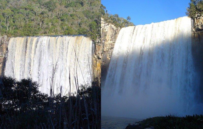 Cachoeira Rio dos Pardos cheia matos costa