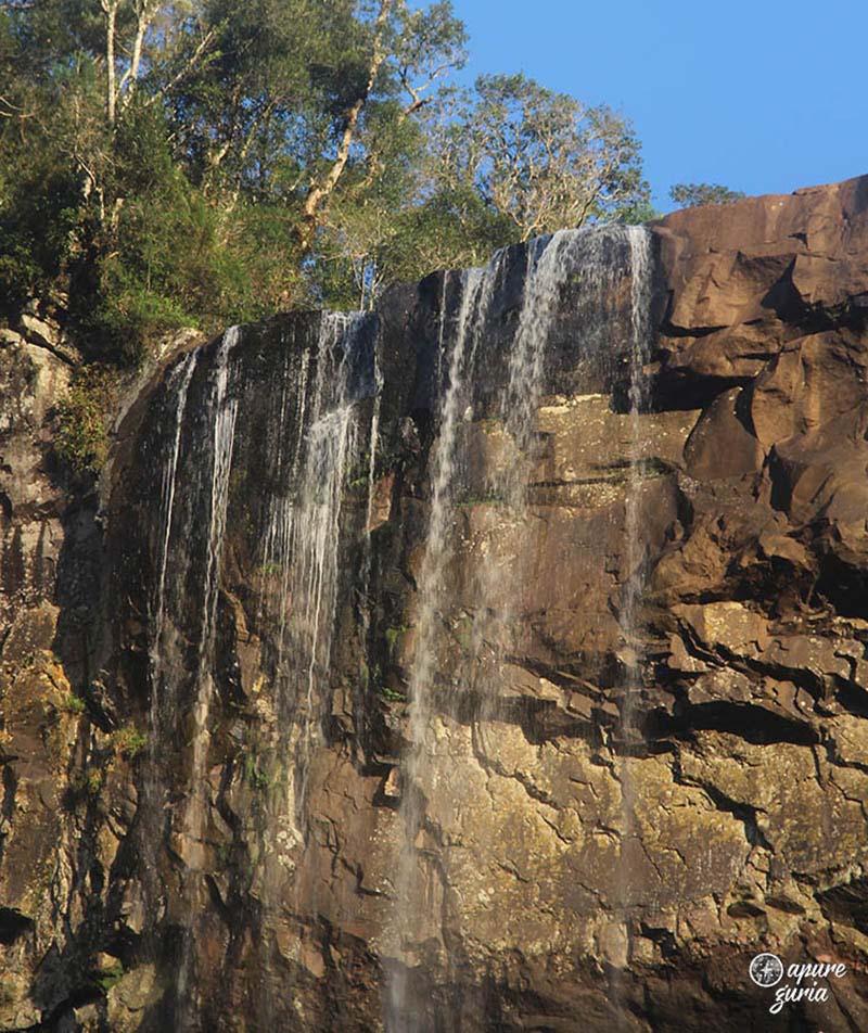 Cachoeira Rio dos Pardos sc matos costa topo