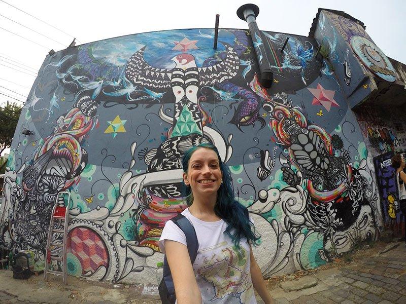 beco do batman grafite