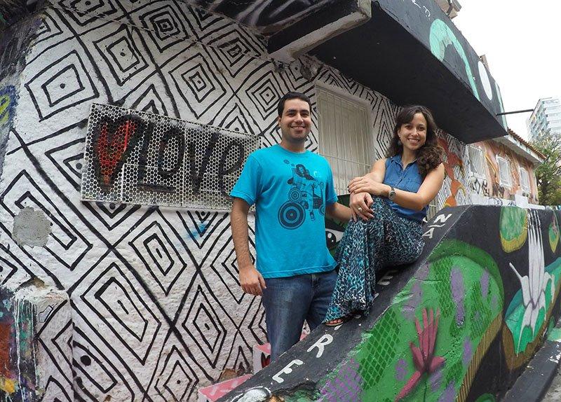 blogueirs viagem no Beco do Batman: arte urbana em SP