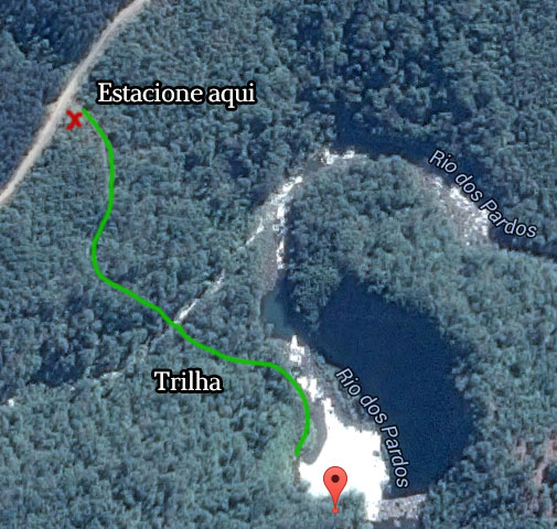 como chegar cachoeira rio dos pardos