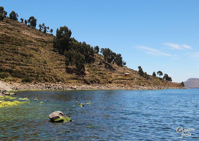 ilha taquile peru lago titicaca