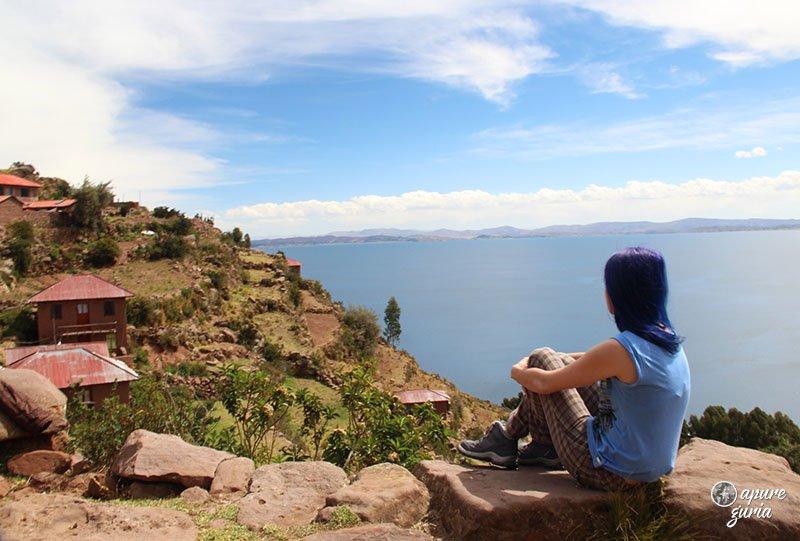 ilha taquile topo titicaca