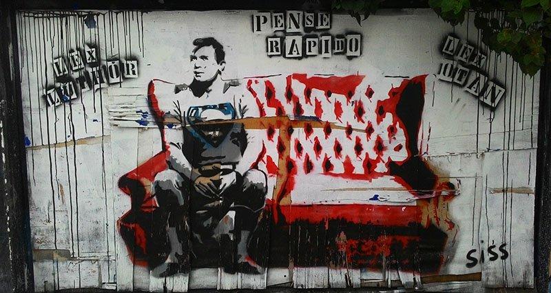 lex luthor Grafites no Beco do Batman: arte urbana em SP