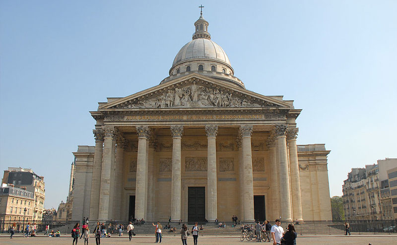 passeio paris gratis pantheon