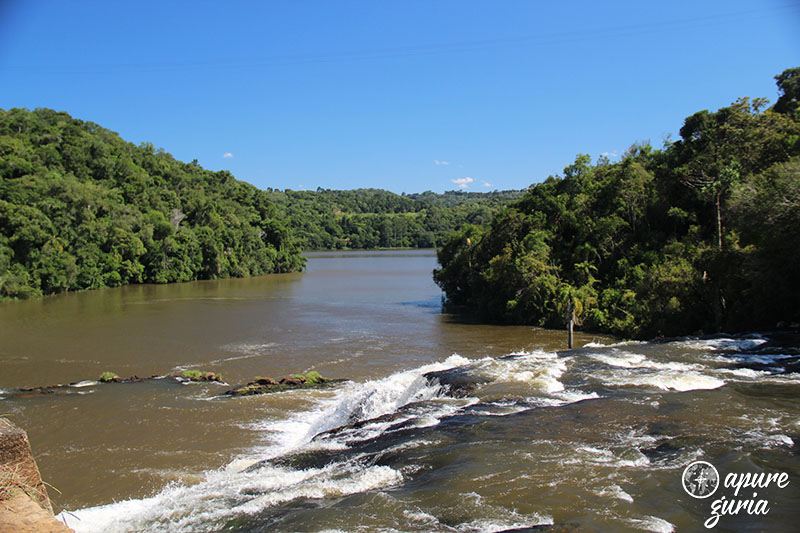 rio palmital cruz machado ponte caida