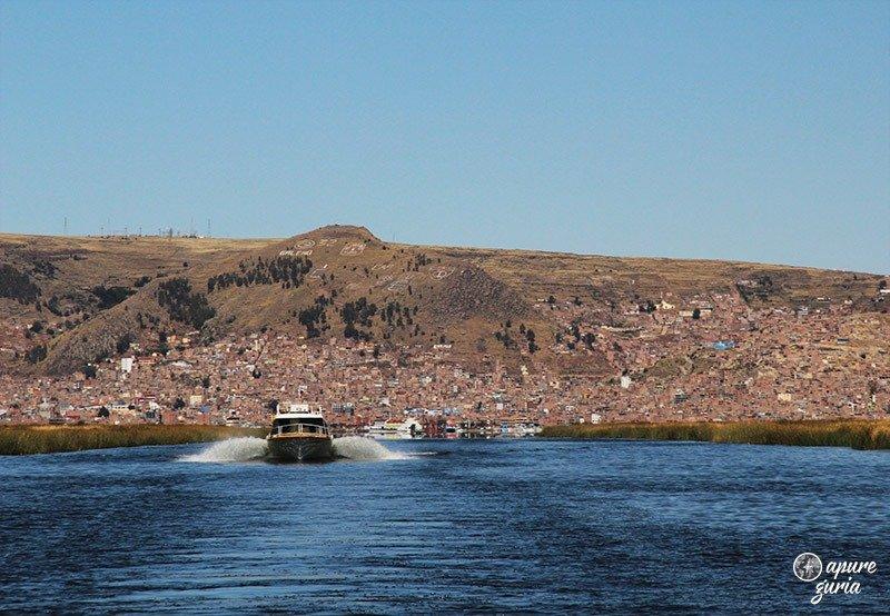 titicaca puno barco