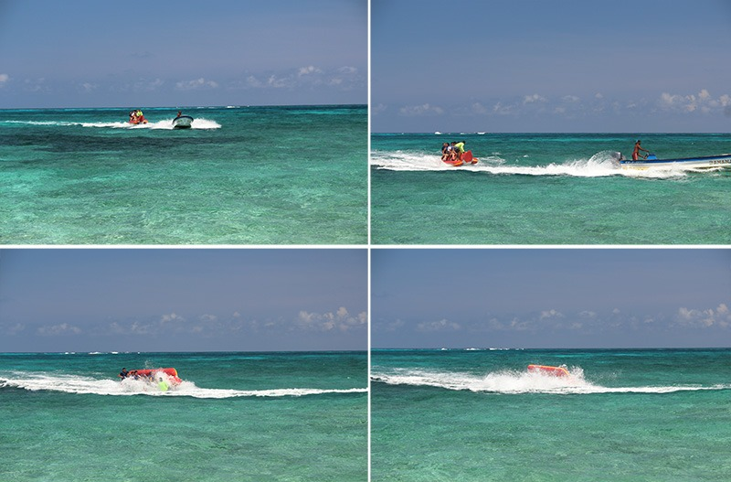 banana boat johnny cay san andres