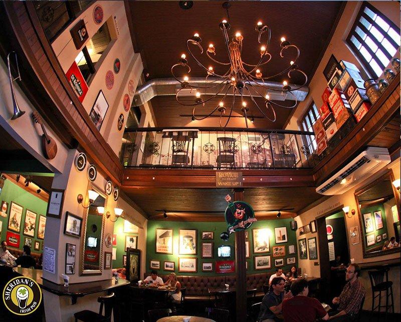 bar rock curitiba sheridans irlandes