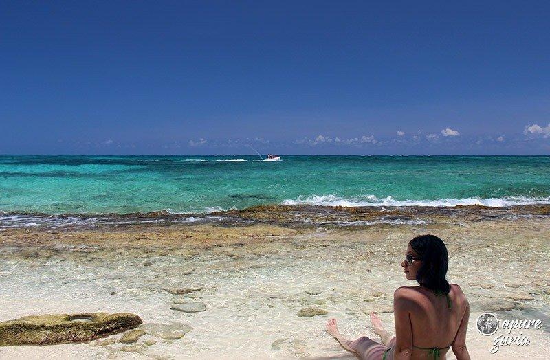 mar azul san andres johnny cay apure guria