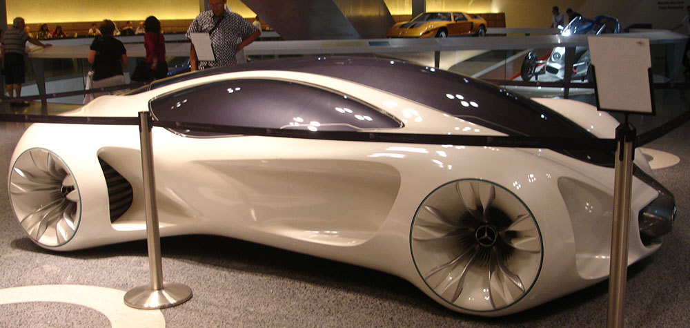 mercedes benz carro futurista