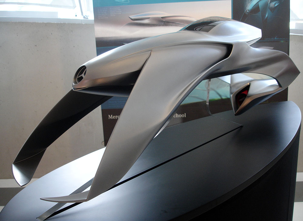 mercedes benz prototipo futurista