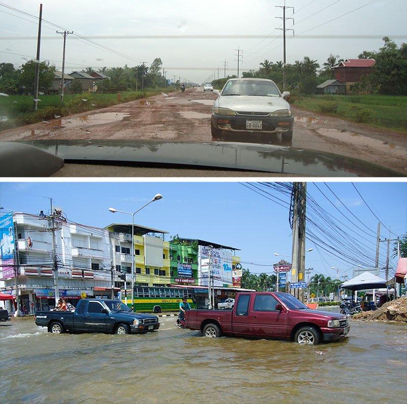 monções asia enchente tailandia camboja