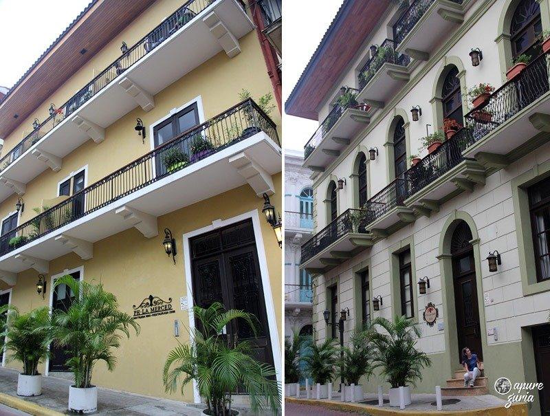 casco viejo la merced arquitetura colonial