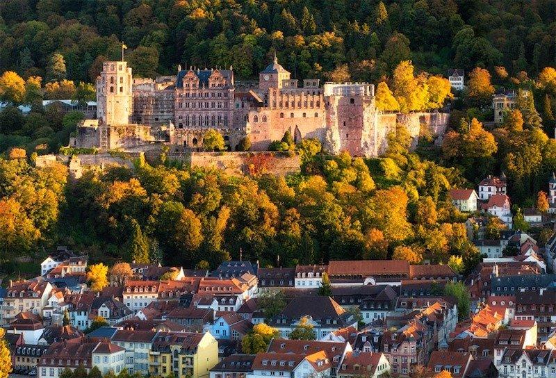 castelo de heidelberg alemanha
