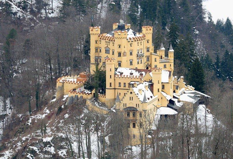 castelo na alemanha Hohenschwangau