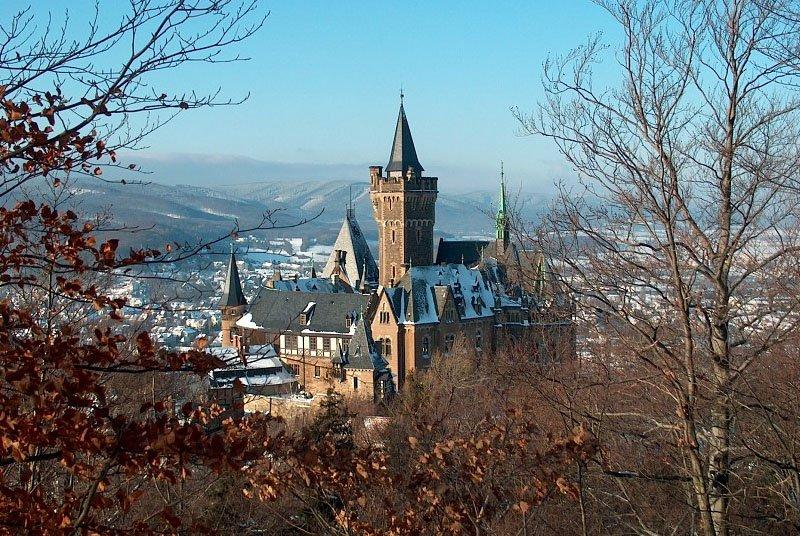 castelos alemaes wernigerode