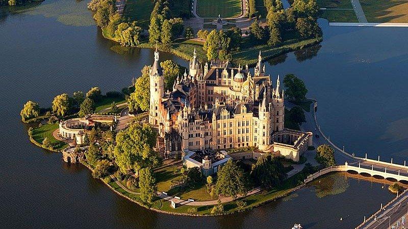 castelos na alemanha schwerin