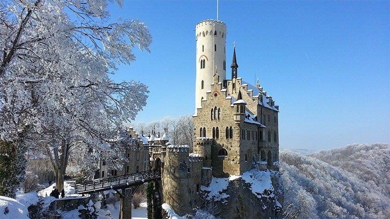 castelos na europa alemanha Liechtenstein