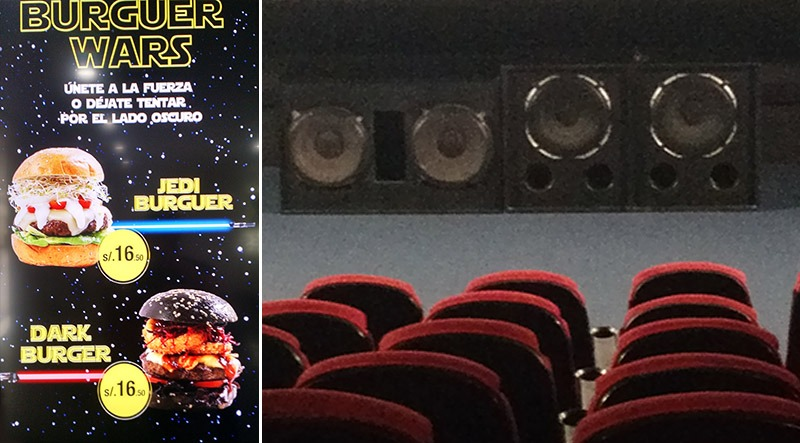 cinema no peru shopping larcomar star wars