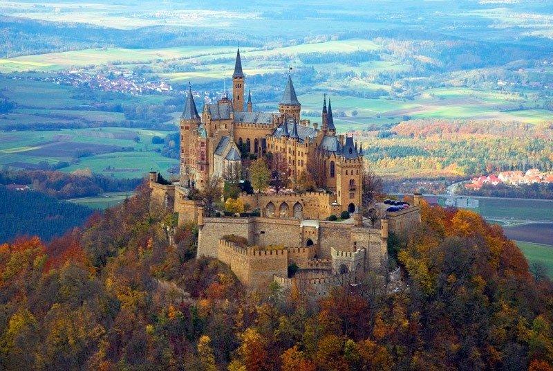 hohenzollern castelo alemanha castelos na europa