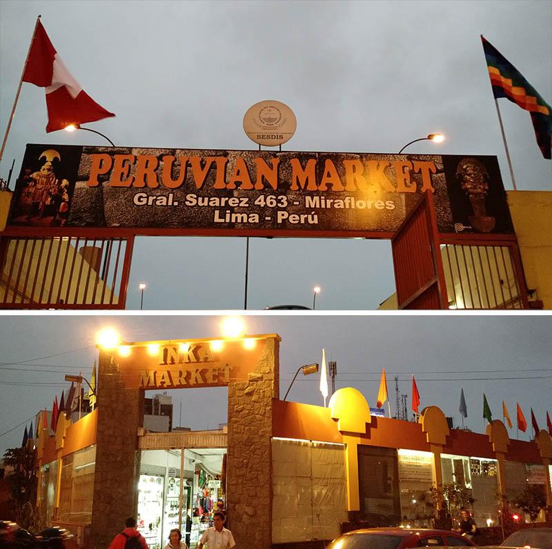 mercados artesanato lima petit thouars