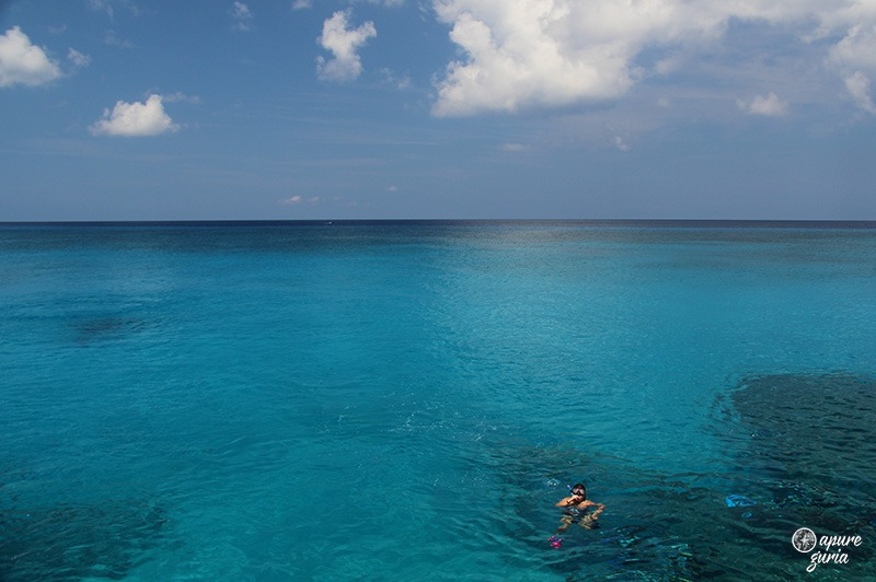 west view san andres mar azul
