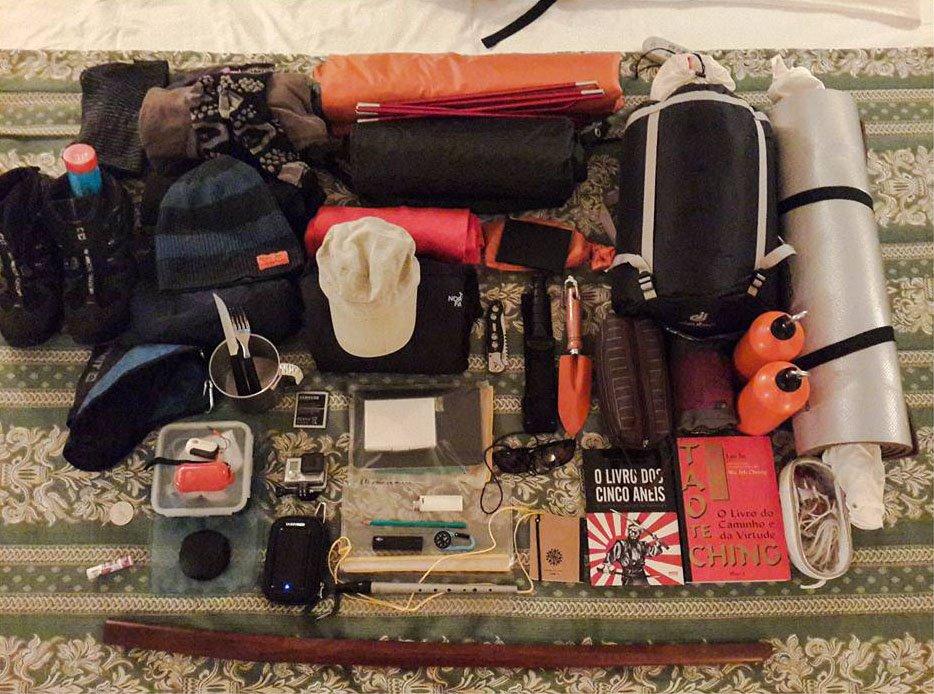 Curitiba à Patagônia o que levar na mochila