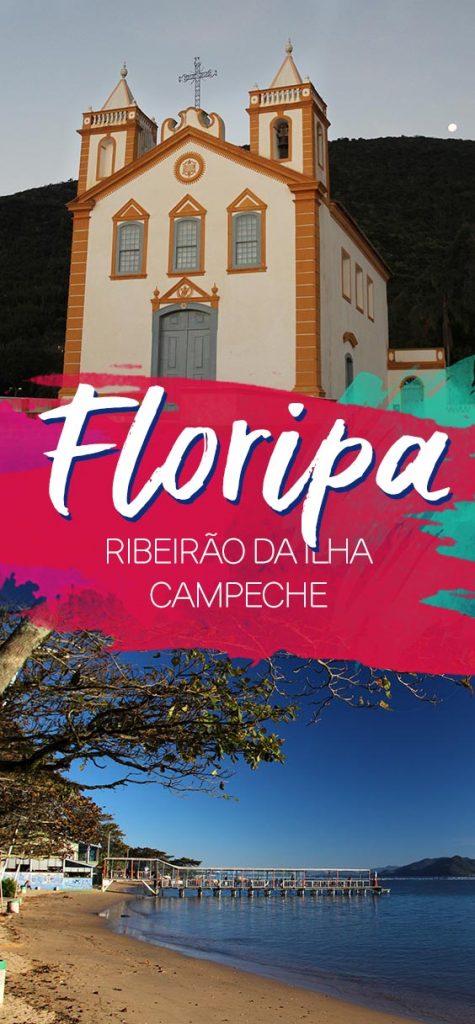 Região sul de Floriánopolis, praia do Campeche e Ribeirão da Ilha