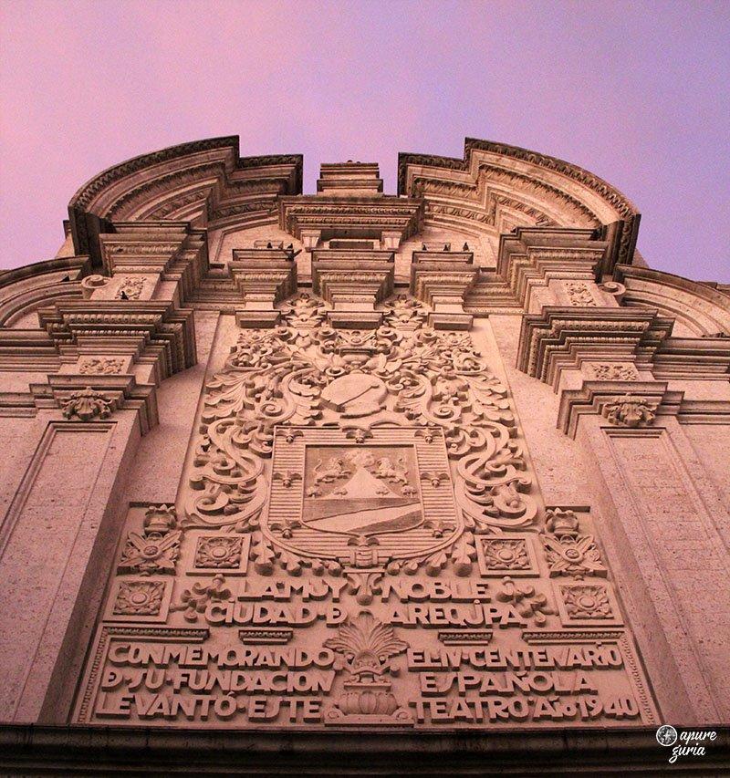 arquitetura peruana arequipa teatro