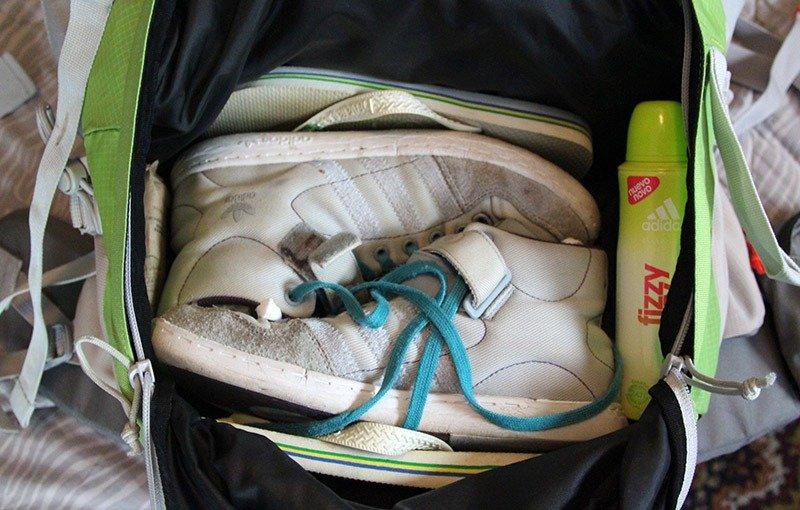 como arrumar a mala mochilão