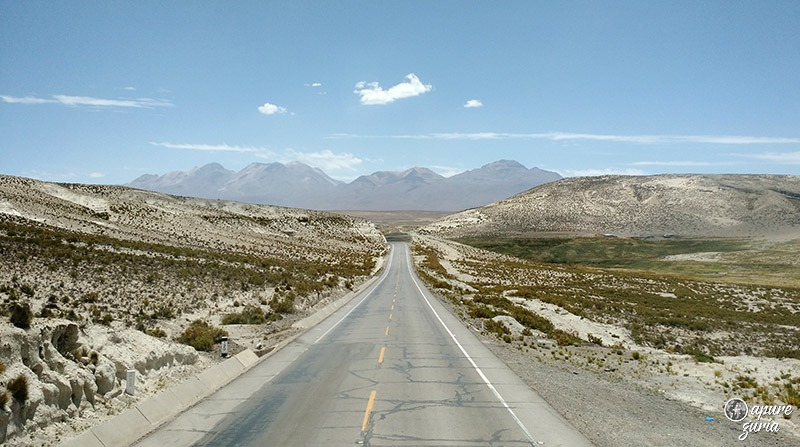 deserto de arequipa estrada