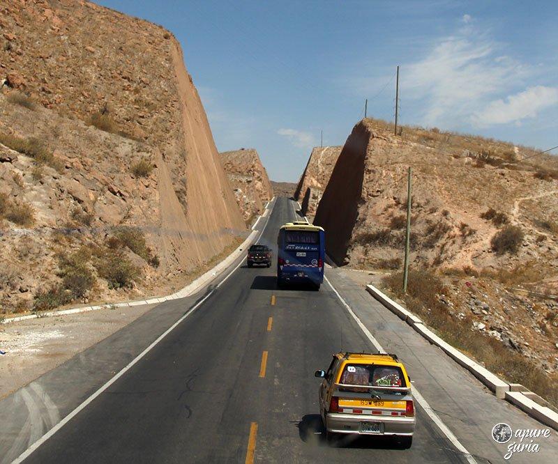 estrada arequipa puno deserto