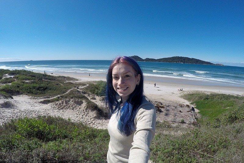 praia do campeche ilha