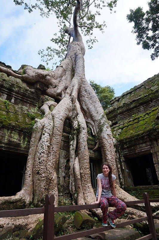 5 dicas para visitar o angkor templo ta phrom tomb raider camboja