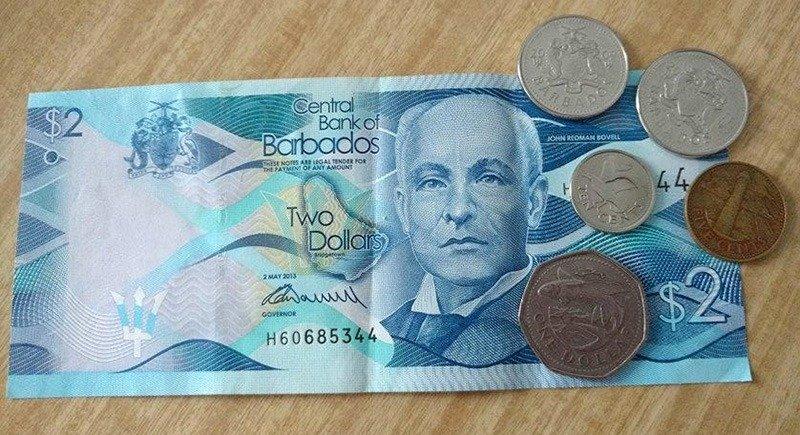 moeda barbados barbadian dollar