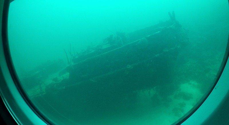navio naufragado barbados