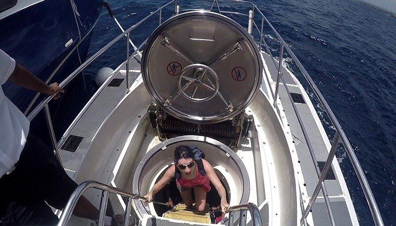 o que fazer em barbados submarino