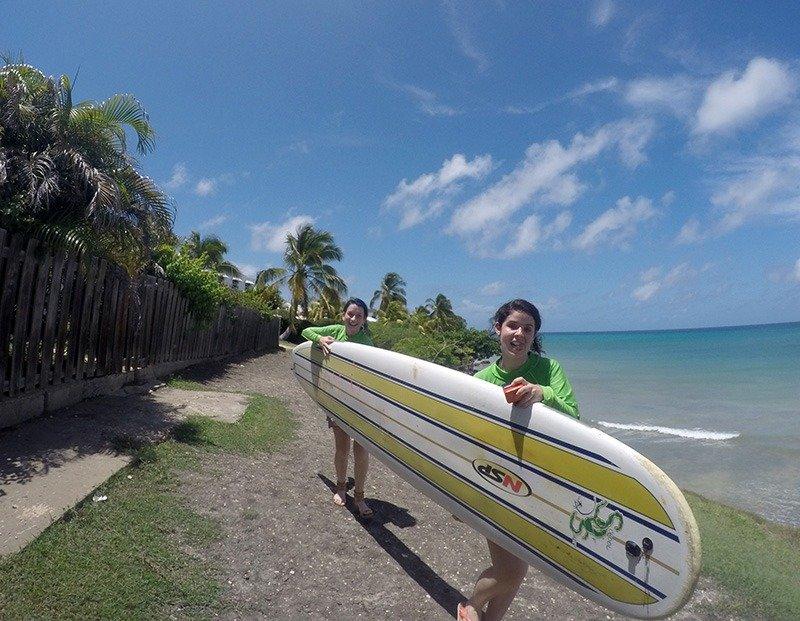 bodie school of surf prancha