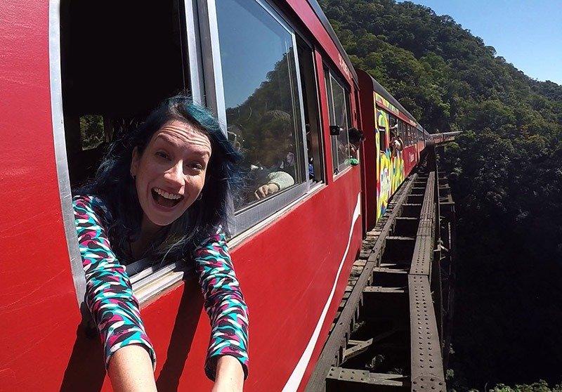 trem curitiba morretes ponte