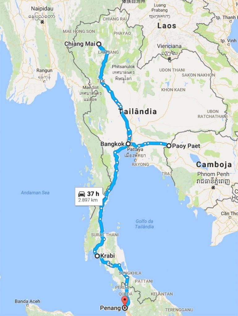 Roteiro na Tailândia 14 dias