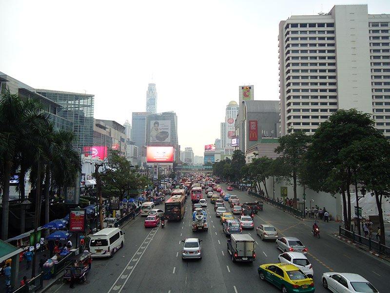 centro-bangkok-taxi-transporte-publico