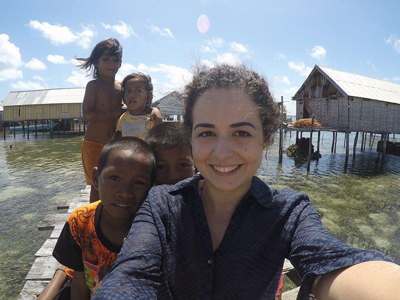 crianças wakatobi indonesia