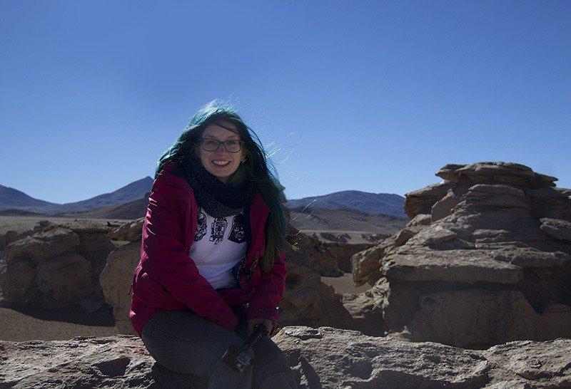 pedras salar de uyuni deserto