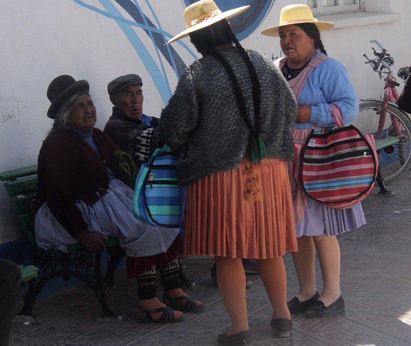 bolivia uyuni povo local