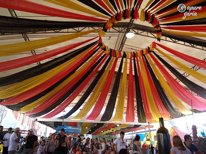 Festa do Xixo e do steinhaeger em porto uniao da vitoria teto