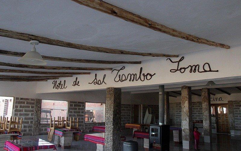hotel de sal tambo loma salar de uyuni
