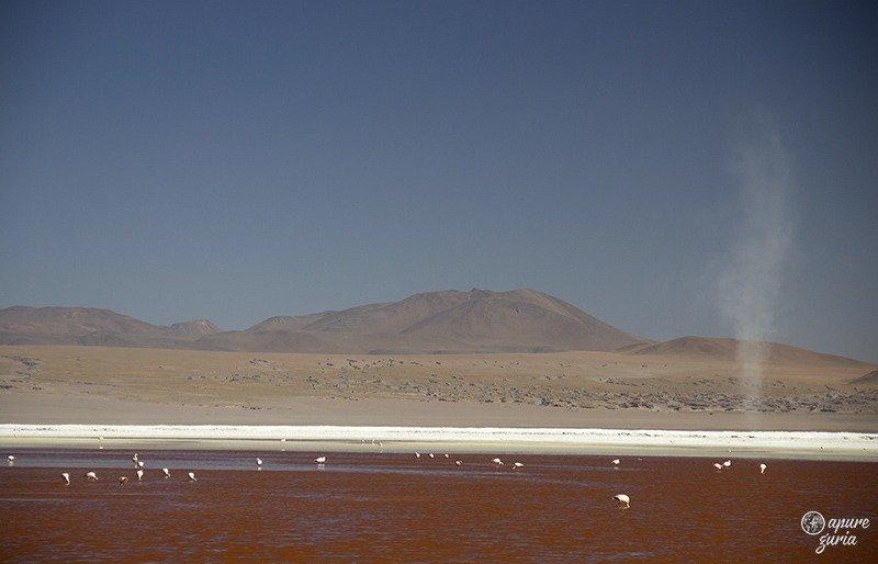 laguna colorada ciclone redemoinho vento